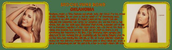 BROOKLYNNE BOND~ OKLAHOMA