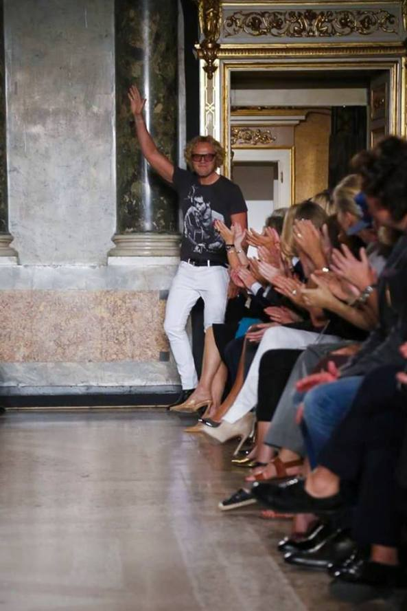 Designer Peter Dundas  presents Emilio Pucci's Spring Summer 2015 Collection at  Milan Fashion Week