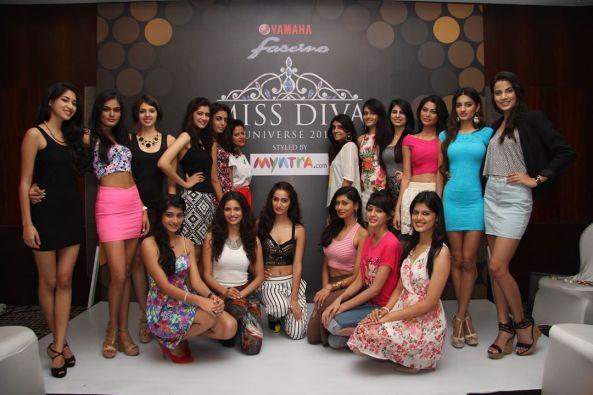 Miss Diva 2014 finalists