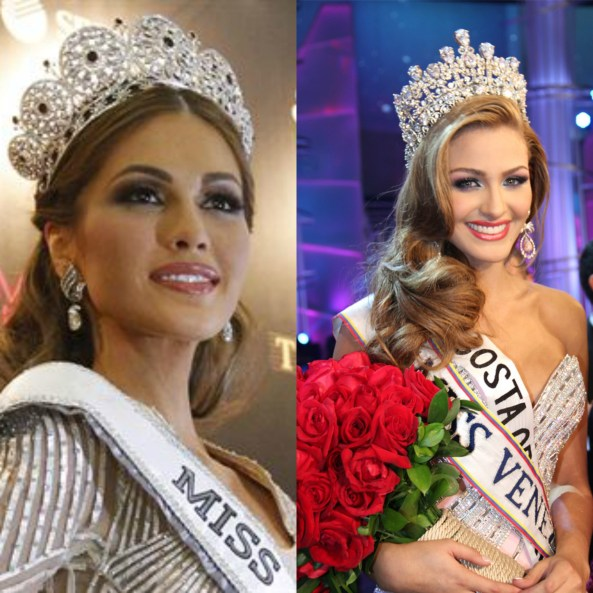 Miss Universe 2013 Maria Gabriela Isler & Miss Venezuela 2013 Migbelis Castellanos