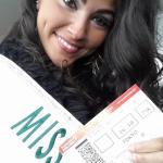 Miss Belgium~Gonul Meral
