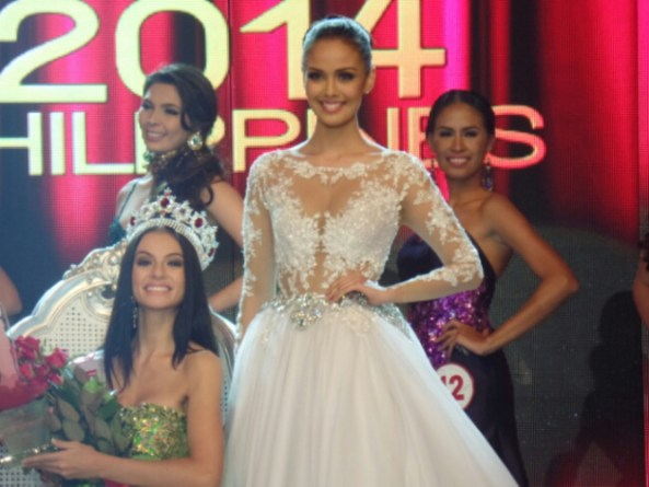 Miss World 2013~Megan Young with Miss World Philippines 2014 ~ Valerie Weigmann