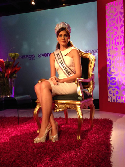 Miss Universe 2013~Maria Gabriela Isler's homecoming