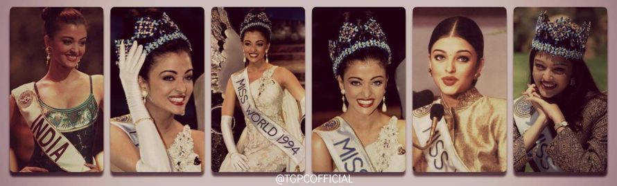 ASHWARYA RAI MISS WORLD 1994- India at Miss World