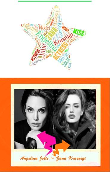 Angelina Jolie- Zana Krasniqi
