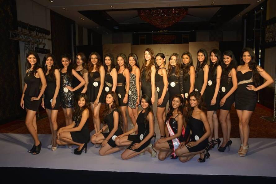 resenting the fbb Femina Miss India 2015 #Finalists Top L-R: Aafreen Vaz, Akanksha Gautam, Naveli Teshmukh, Deeksha Kaushal, Minash Ravuthar, Chahat Dalal, Vartika Singh, Meghna Mittal, Aditi Arya, Pranati Prakash, Rushali Rai, Medhika Priya, Aishwarya Goel, Rewati Chetri, Sushruthi Krishna, Tanya Hope. Bottom L-R: Apeksha Porwal, Diksha Singh, Rakshitha Harimurthy, Ruchira Mookerji, Sushrii Shreya Mishraa.