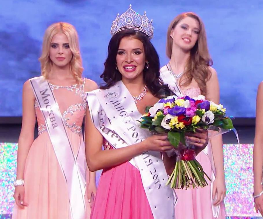 Sofia Nikitchuk wins Miss Russia 2015