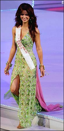 At Miss World 2005