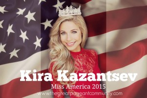 Miss America 2016 Contestants