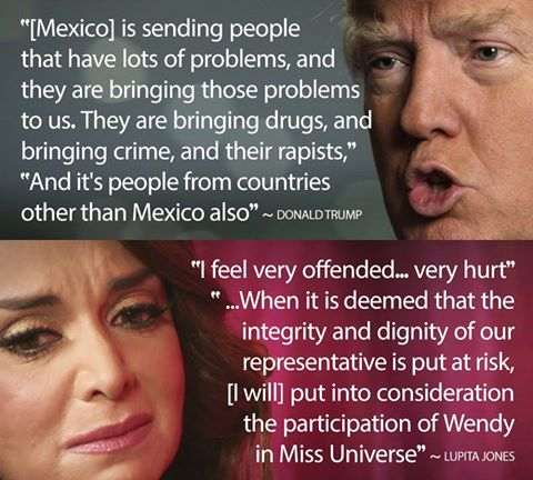 Donald Trump, Lupita Jones & DRAMA!