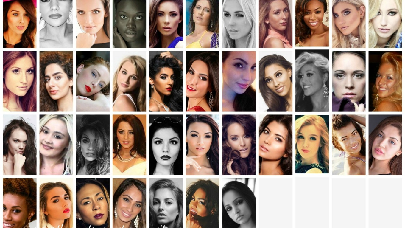 Miss Universe Great Britain 2015 Contestants