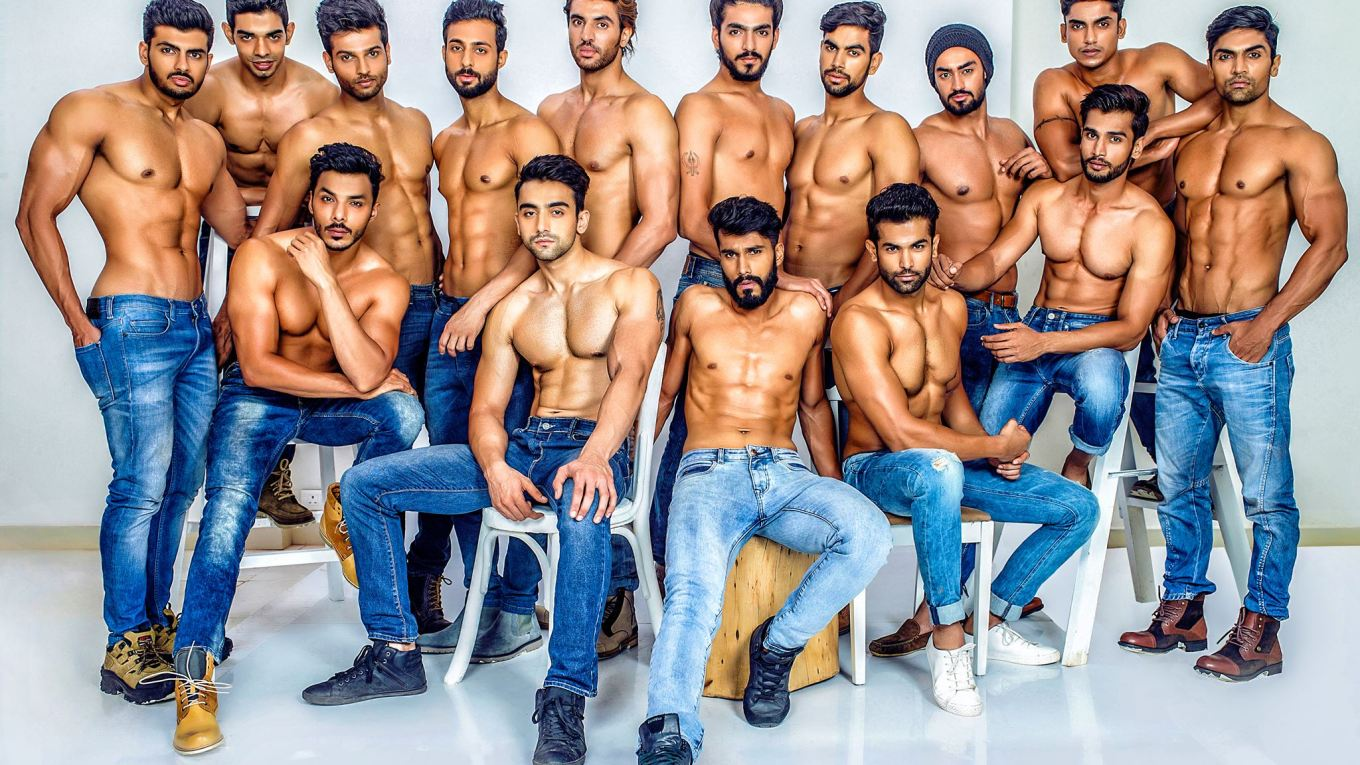 Mr India World 2015: Official Glam shots