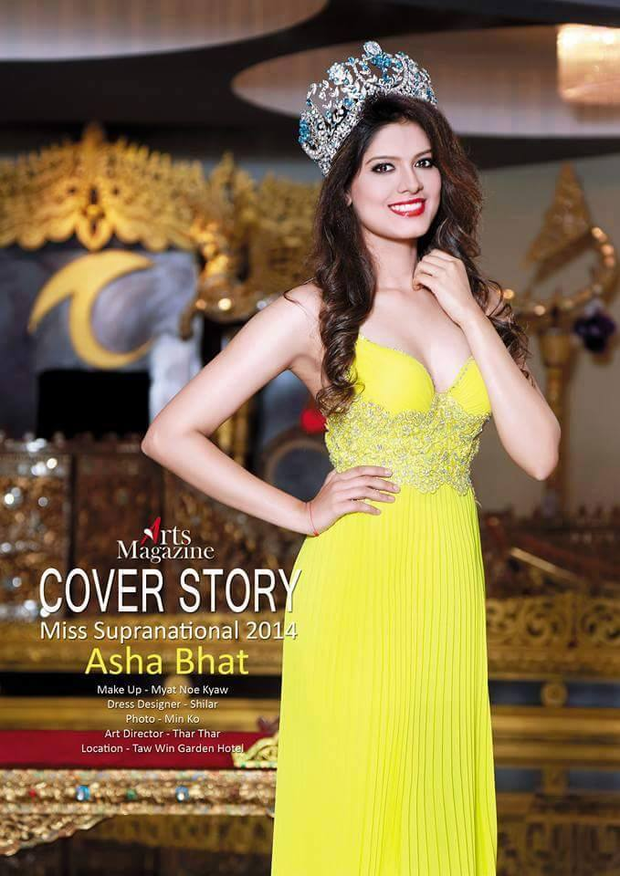 Miss Supranational 2014 ~ Asha Bhat