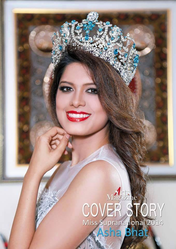 Miss Supranational 2014 ~Asha Bhat for Arts Magazine