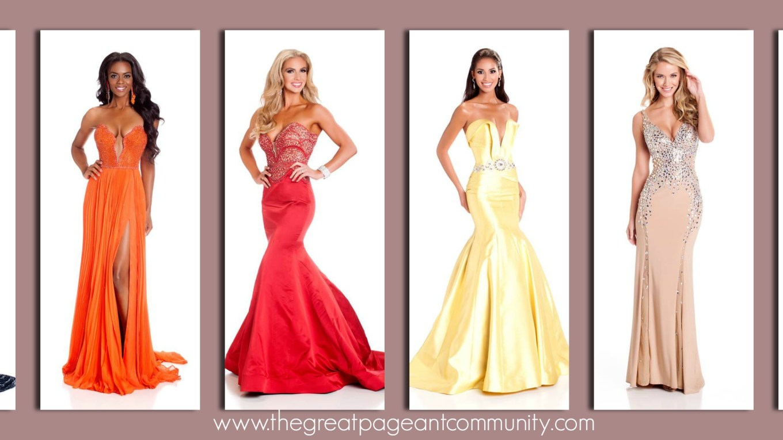 Miss USA 2015 Evening Gown