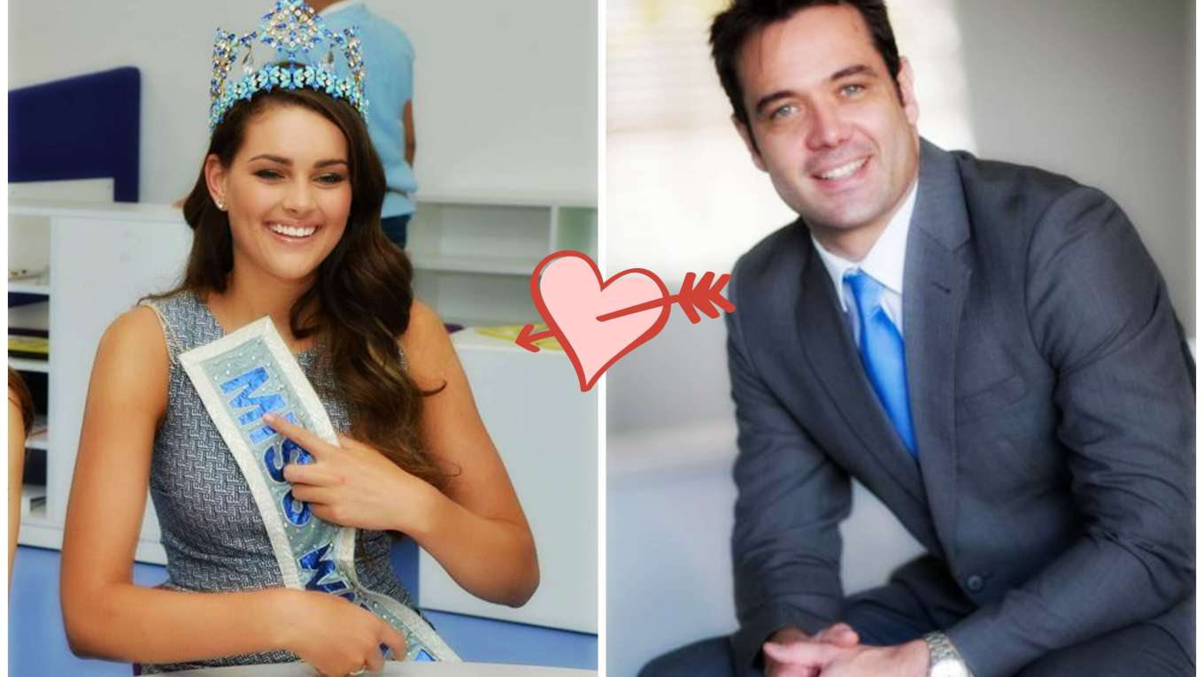 Rolene Strauss's Engagement