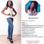 010 Nicole Lisa Gaelebale Miss Botswana 2015 Contestants
