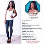 026 Resego Moatshe Miss Botswana 2015 Contestants