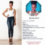 029 Larona Lame Seribe Miss Botswana 2015 Contestants