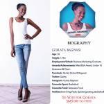005 Gorata Bagwasi Miss Botswana 2015 Contestants
