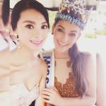 Rolene Strauss With Yu WenXia in China
