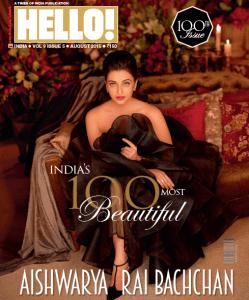 Aishwariya grazing the cover of Hello!India