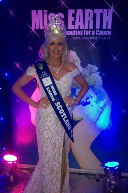 Miss Earth United Kingdom 2015. Miss Earth Scotland 2015-Amy Meisak