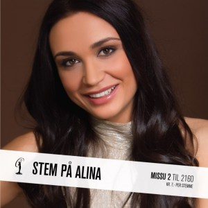 Alina Miss Universe Norway 2015 Contestants