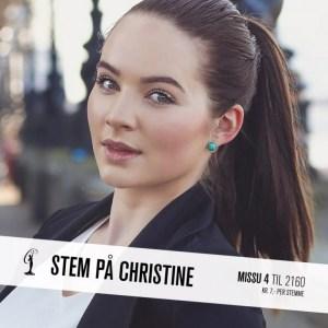 Christine Miss Universe Norway 2015 Contestants