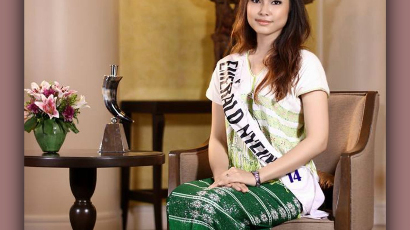 Miss International Myanmar 2015- Emerald Nyein