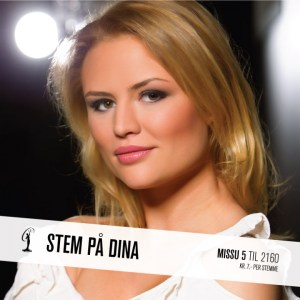 Dina Miss Universe Norway 2015 Contestants