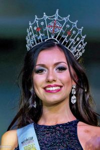 Natasha Hemmings, Miss Cheshire, wins Miss England 2015