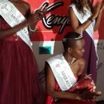 Linda Gatere, Elaine Wairimu Mwangi, Eunice Atien Onyango - Miss Kenya winners