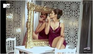 Rushali Rai and Danielle Canute in Lipstick Challenge