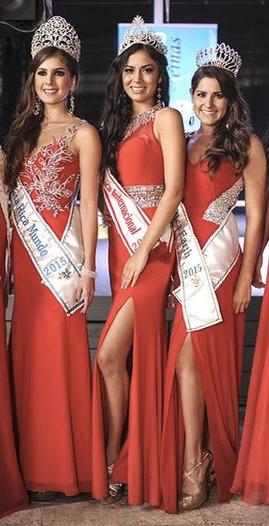 Angelica Reyes wins Reinas de Costa Rica 2015
