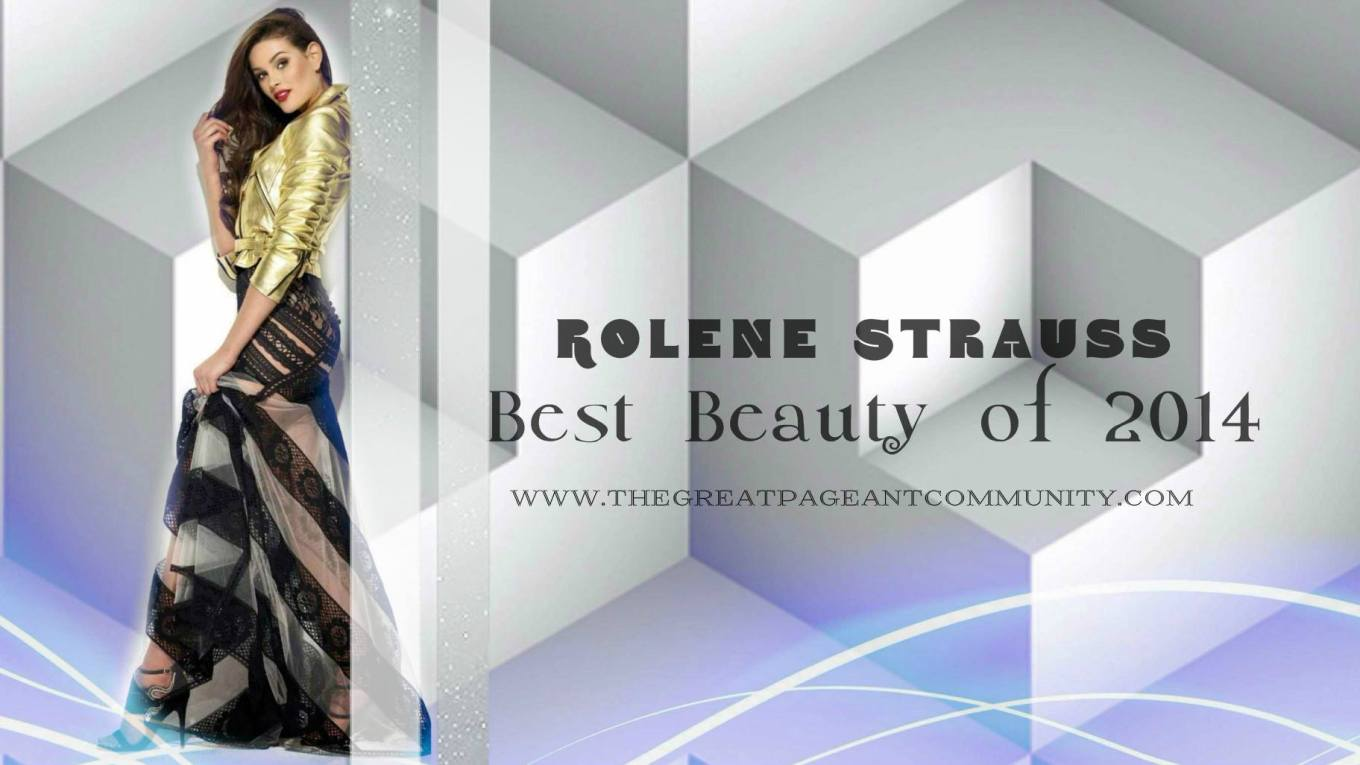 Best Beauty of 2014: Rolene Strauss