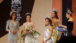 Thanchanok Moonnilta is Miss Thailand World 2015