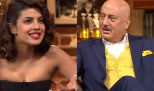 priyanka chopra on anupam kher show