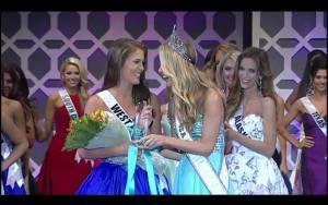 Cora King, West Virginia was declared Miss Congeniality
