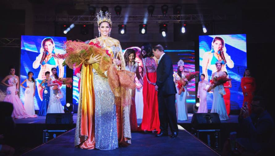 Miss World Guam 2015: Aria Perez Theisen