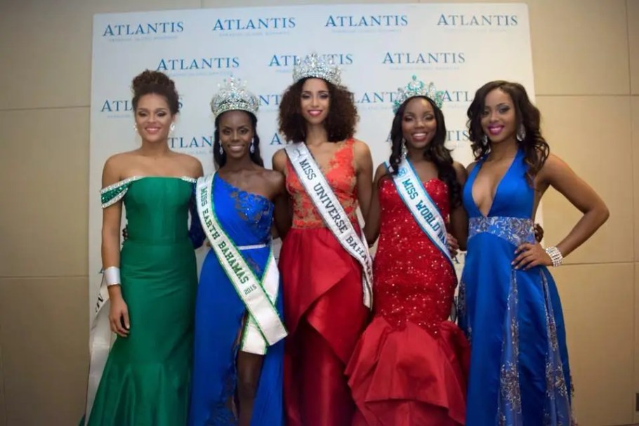 Miss Bahamas 2015: Miss Universe Bahamas Toria Penn, Miss World Chantel O'Brian and Miss Earth Darronique Young!