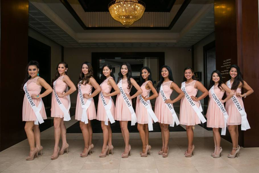 Top 10 Miss World Guam 2015 Contestants