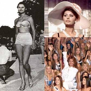 Sophia Loren, Miss Italia