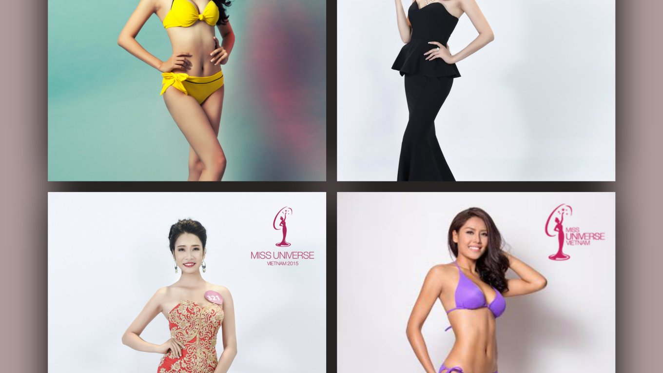 Miss Universe Vietnam 2015 Contestants