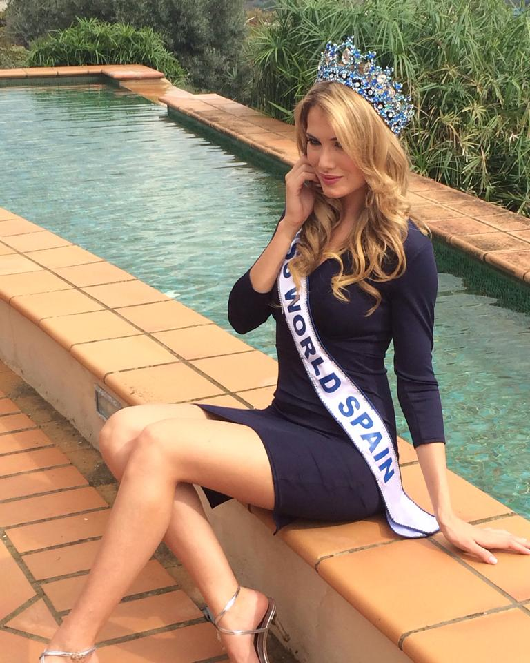 Mireia Lalaguna will represent Spain at the Miss World 2015 pageant