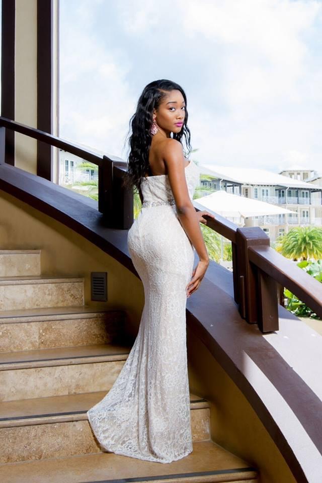 Miss world British Virgin Islands 2015 -Sasha O. E. Wintz