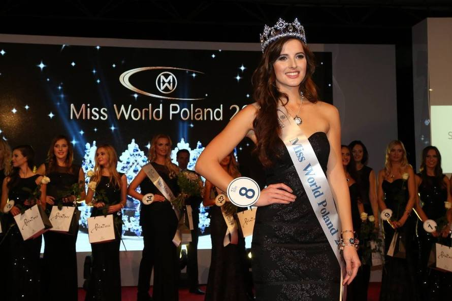 Miss World Poland 2015 -Marta Pałucka