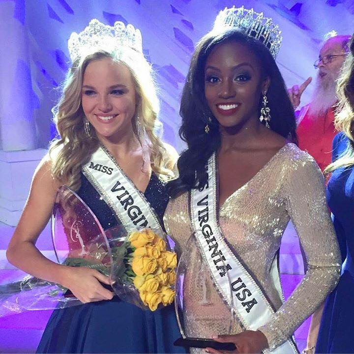 Miss Teen Virginia USA 2016-Gracyn Blackmore with Miss Virginia USA