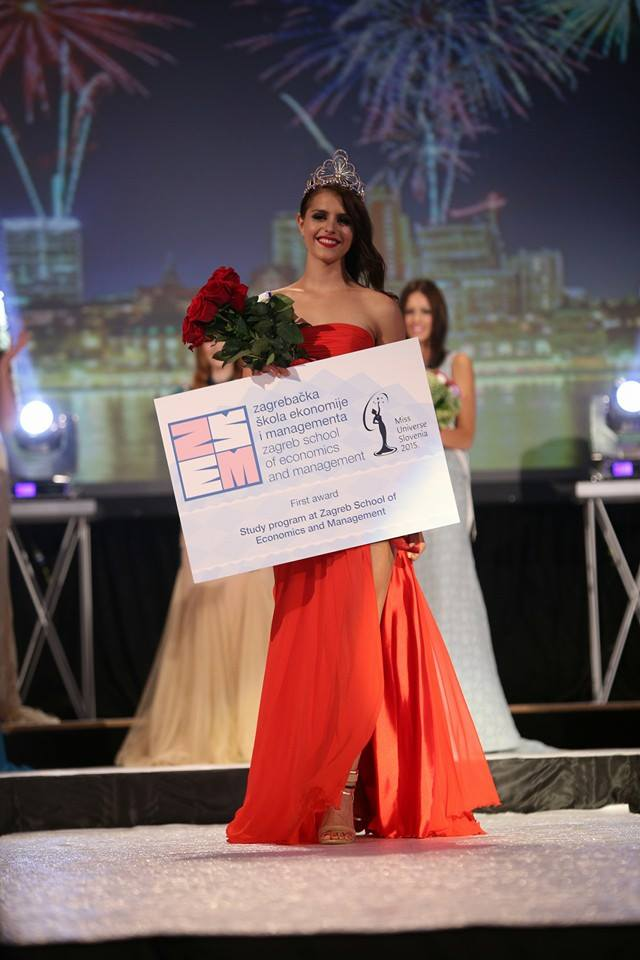 Ana Haložan is Miss Universe Slovenia 2015