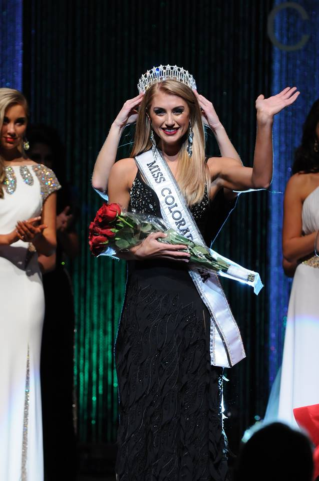Caley-Rae Pavillard will represent Colorado at Miss USA 2016 Pageant